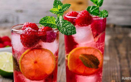 Prosecco drink a vaflové tyčinky pro jednoho či dva