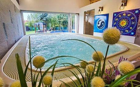 Pobyt u lázeňského Mosonmagyaróváru v Heléna Hotel & Spa *** s polopenzí, neomezeným wellness a výhodami