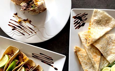 Burrito, quesadilla nebo tacos pro 1 či 2 osoby