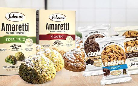 Italské sušenky: pistácie, oříšky i čokoláda