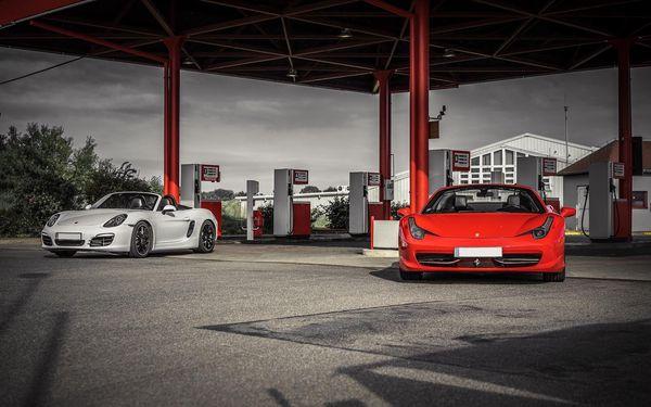 Porsche Boxster na 15 min./15 km5
