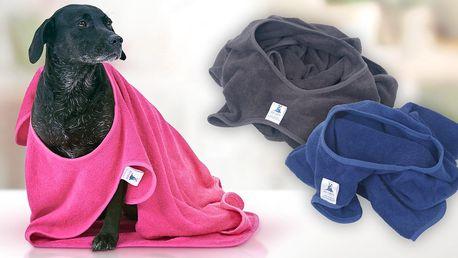Psí ručník pro snadné osušení v 6 barvách