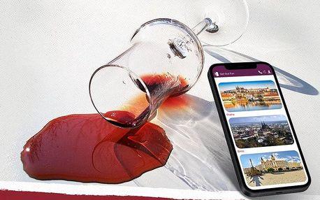 Venkovní úniková hra Tour de wine
