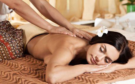Masáž podle výběru: 60 či 120 min. pro 1 i 2 osoby