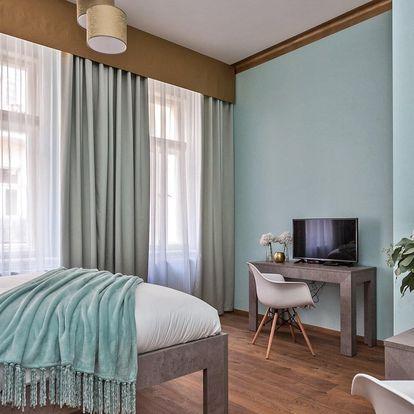Luxusní ubytování v centru Prahy pro dva