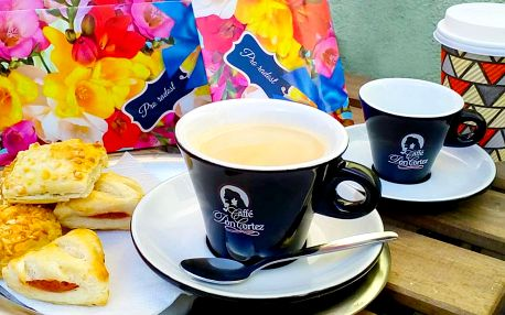 Minitky s kávou, milkshakem nebo lahodným čajem
