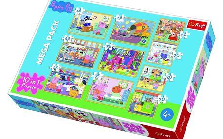 Trefl Puzzle Prasátko Peppa 10v1