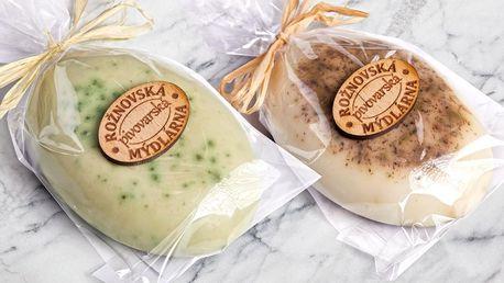 Mýdla s kozím mlékem z Rožnovské manufaktury