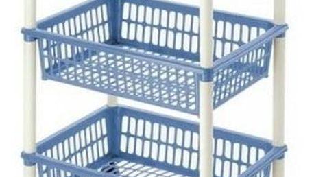 Tontarelli Pojízdný vozík Mito 3, modrá