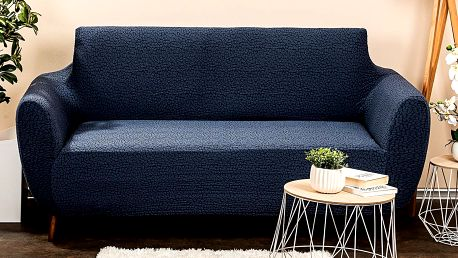 4Home Multielastický potah na sedačku Comfort Plus modrá, 140 - 180 cm, 140 - 180 cm