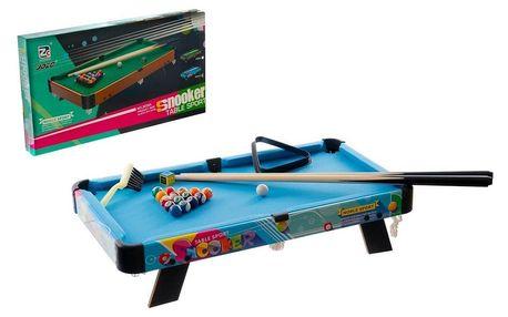 Teddies Dětský kulečník/billiard, 63,5 x 34,5 x 12,5 cm