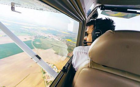 Na zkoušku pilotem v Cessně C150