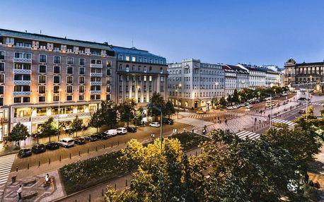 5* pobyt v hotelu přímo na Václavském náměstí