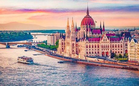 Budapešť u krásného parku v Hotelu Bobbio *** s celodenním vstupem do lázní Széchenyi, saunou a snídaní