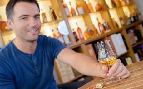 Degustace skotských sladových whisky