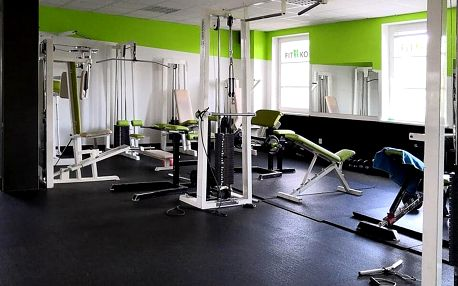 Měsíční nepřenosná permanentka na návštěvy fitness