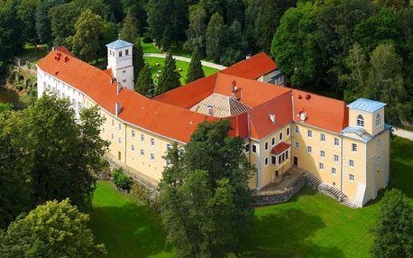 Zámecký pobyt v Polsku s wellness a jídlem