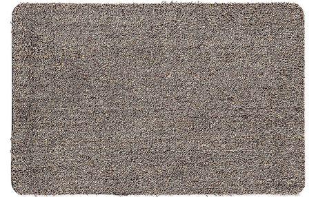 Rohožka Clean Mat hnědá, 45 x 70 cm