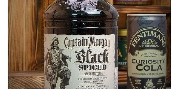 Kanystr Bar Captain Morgan Black Zelený, Celá ČR3