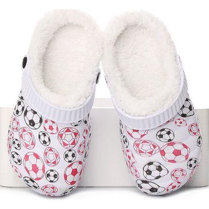 ROAD STAR Dětské zateplené pantofle RS-1306D Velikost: 32 (19 cm)