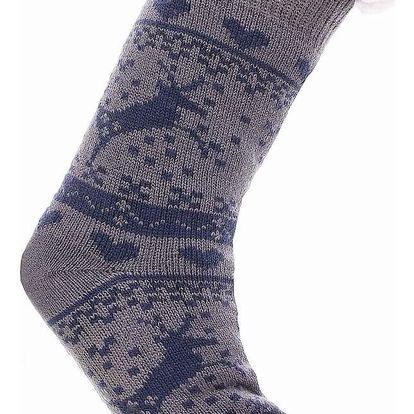 AMZF Pánské domácí ponožky PA-500D.G Velikost: UNI