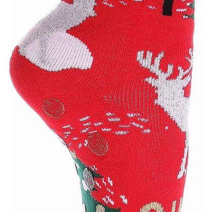 Aura.Via Dámské vánoční ponožky SNPVX02R Velikost: 38 - 41