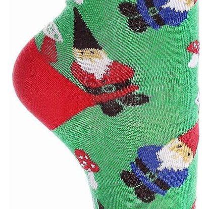 Aura.Via Dětské vánoční ponožky SGC5073.5 Velikost: 24 - 27