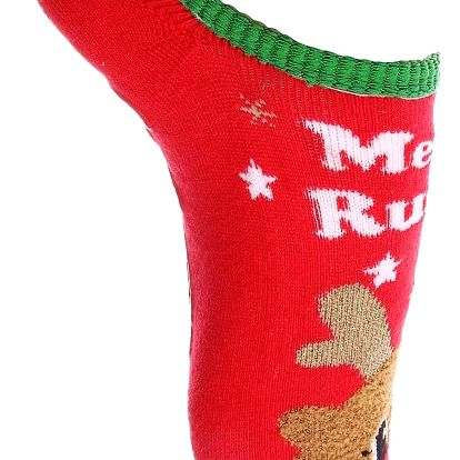 Aura.Via Vánoční ponožky SDV6852.3 Velikost: 35 - 38