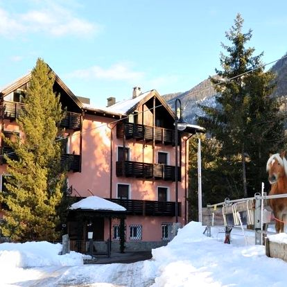 Marilleva / Folgarida   Hotel Park Hotel Bellevue***   Dítě do 9,99 let zdarma   Ubytování, Polopenze