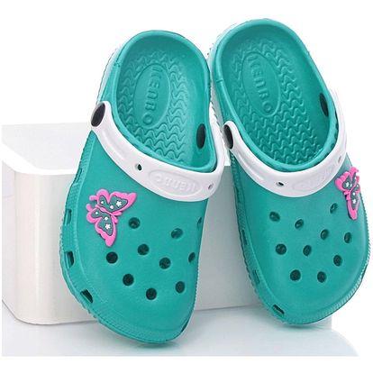 N/M Dětská gumová obuv 1908C.GR Velikost: 31 (19 cm)