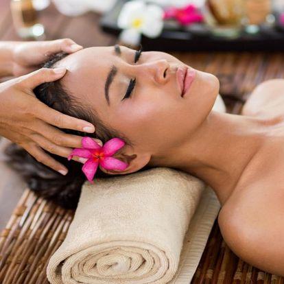 40min. masáž proti migréně a bolestem hlavy i páteře