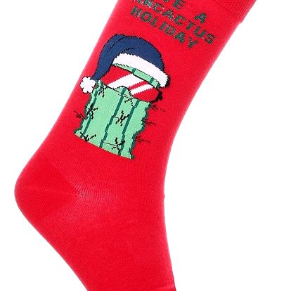 Aura.Via Pánské vánoční ponožky SF6705R.3 Velikost: 43 - 46