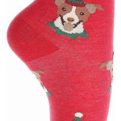 Aura.Via Dámské vánoční ponožky SN6666.4 Velikost: 35 - 38