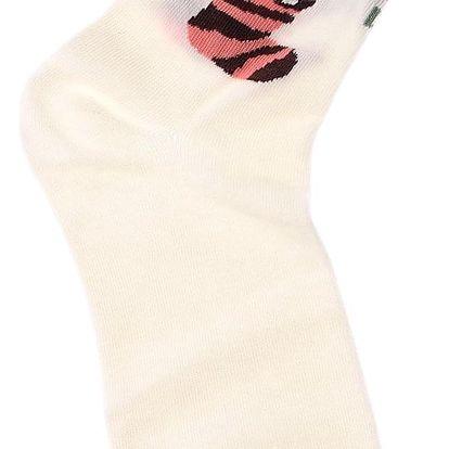 Aura.Via Dámské ponožky s medvídkem NX6602CR Velikost: 38-41