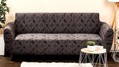 4Home Multielastický potah na sedačku Comfort Plus šedá, 180 - 220 cm, 180 - 220 cm