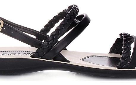 Desun Černé sandály GS1015B Velikost: 38 (24,5 cm)