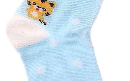 Aura.Via Ponožky se zvířátkem NL8928BL Velikost: 38-41