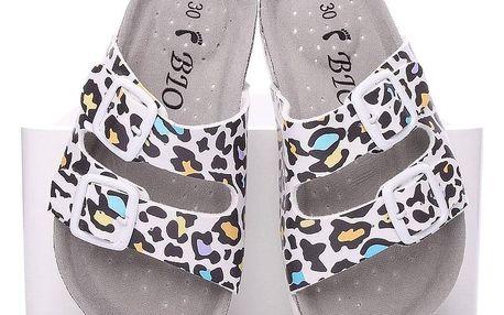 Timelook fashion Dětské pantofle C2240LEO Velikost: 33 (20 cm)