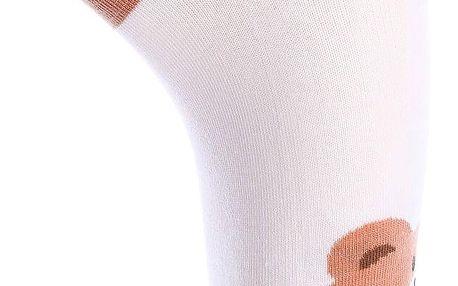 Aura.Via Dámské ponožky NDP6219WH Velikost: 38 - 41