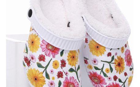 ROAD STAR Dětské zateplené pantofle RS-1306G Velikost: 33 (20 cm)