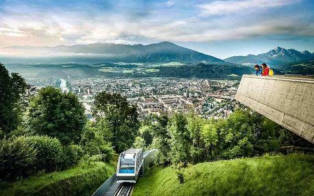 Alpský Innsbruck s návštěvou skokanských můstků | Jednodenní poznávací zájezd s průvodcem