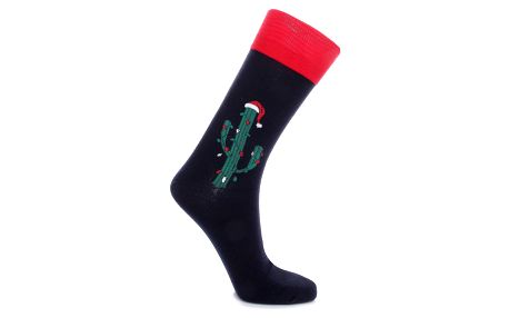 Aura.Via Pánské vánoční ponožky SF6705B Velikost: 39 - 42
