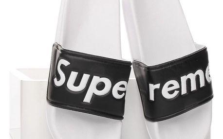 SPORT Dámské pantofle 8849B.WH.B Velikost: 37 (23 cm)