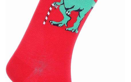 Aura.Via Pánské vánoční ponožky SF6705R.1 Velikost: 39 - 42
