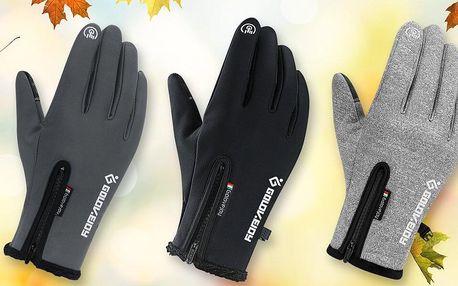 Unisexové termo rukavice: 3 barvy ve 4 velikostech