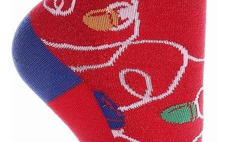 Aura.Via Dětské vánoční ponožky SGC5073.2 Velikost: 24 - 27