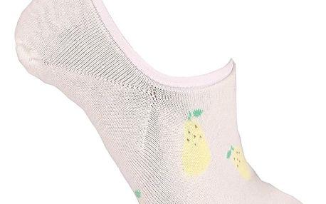 Aura.Via Nízké ponožky s potiskem NDD835.3 Velikost: 35-38