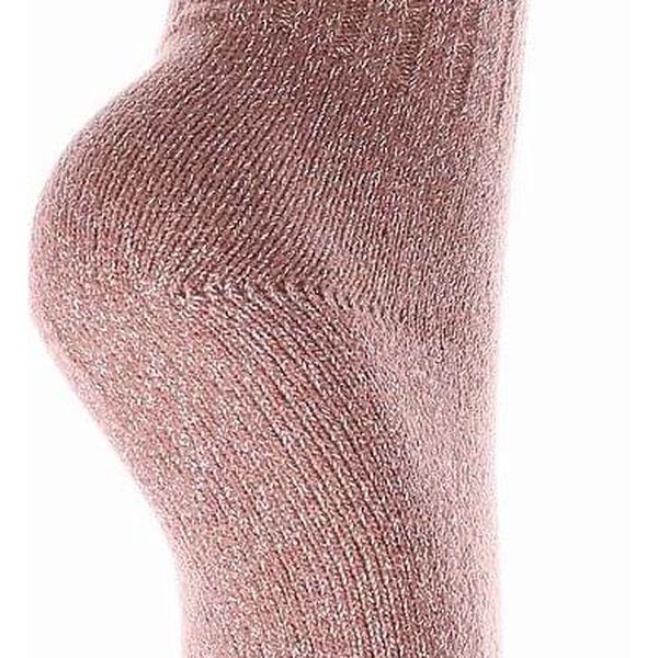 Pesail Třpytivé termo ponožky LY207BR Velikost: 35 - 383