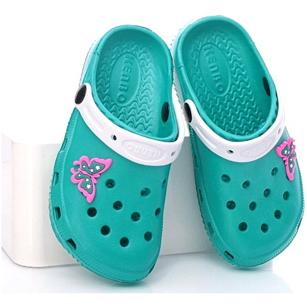 N/M Dětská gumová obuv 1908C.GR Velikost: 32 (20 cm)
