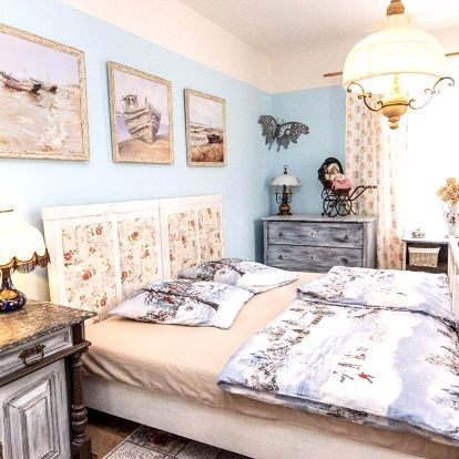 Stylové ubytování ve venkovském apartmánu